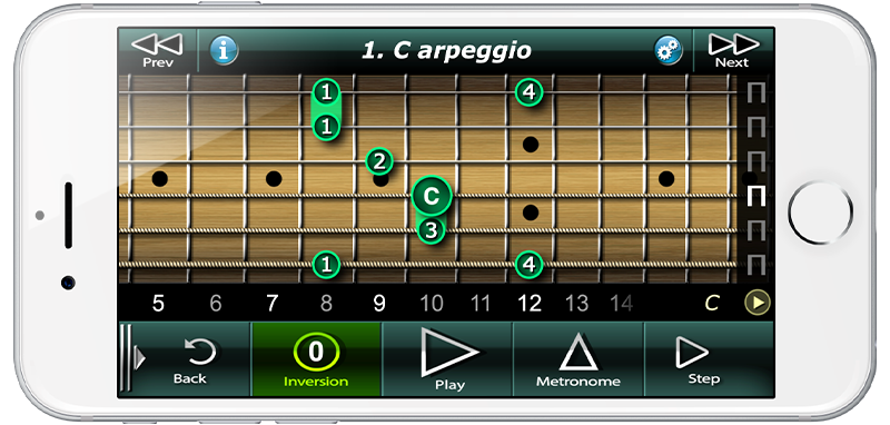 Sweep Picking Guitar Arpeggios
