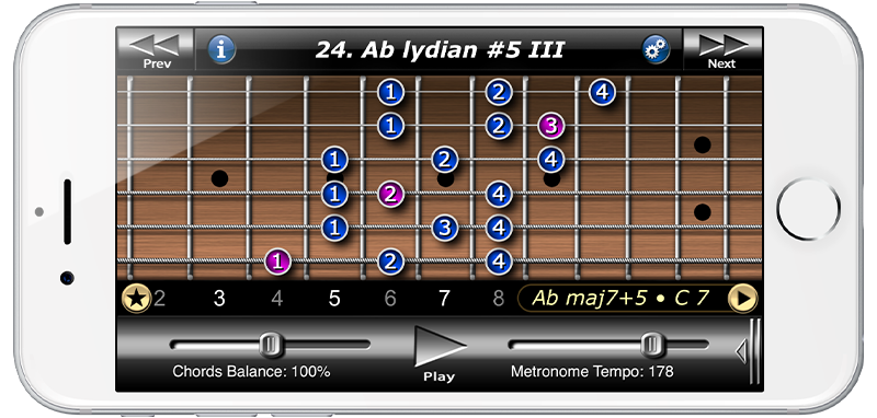 Guitar Modes Symmetry School